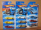 Hot Wheels Lot of 9 1969 Chevrolet Corvette ZL 1 Faster Than Ever 69 White FTE