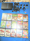 PLAY STATION TWO PS2 SYSTEM WITH FIFTEEN (15) GAMES WORKING