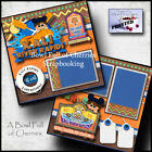 DISNEY KALI RIVER RAPIDS 2 premade pages paper piecing printed BY CHERRY 0032