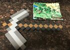 Mincraft Pick Axe Foam Action Figure Plus Poster Great condition!!!