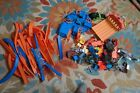 HUGE LOT 14Lbs Hot Wheels TRACK CONNECTORS CURVES LAUNCHERS