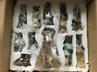Native American Indian Nativity Scene 11 Piece Porcelain Set With Lighted Teepee