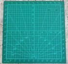 CMK Professional Grade A Double Sided Cutting Mat Black Green 14 x 14 inches