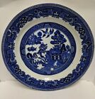 Blue Willow China Old Pattern Dinner Plate Transferware 10