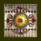 Window Panel Victorian Design Stained Glass 25