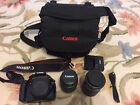 Canon EOS Rebel T3 EOS 1100D Kiss X50 DSLR Set