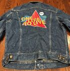 Lee Vtg 70s Mens Denim Jean Stonewashed Jacket One Life To Live SUPER Rare