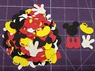160 Disney Mickey Mouse Die Cuts Confetti Scrapbooking Parties