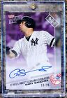 2017 TOPPS NOW GARY SANCHEZ #606 AUTO # 19 of 25 SOLD OUT! CATCHER HR RECORD