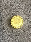 2016 50 Cents Canada 1 Gram Gold Maple Leaf Small Coin