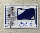 2017 NATIONAL TREASURES JAKE ARRIETA COLOSSAL COLOR TEAM LOGO PATCH AUTO 1 1