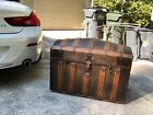 steamer trunk chest humpback 1840s