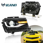 LED Headlight For 2014 2015 Chevrolet Camaro LS LT SS Projector Headlights LHRH