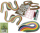 Scrapbooking Quilling Paper Set Starter Quilling Tools Kit Climper Tool