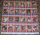 Sunoco Football Stamp Sheet New England Patriots Cards 24dif New Player Update