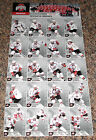 2005 06 Ohio State Hockey Card Set Uncut Sheet 20dif