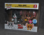 Funko Shop Exclusive Pop Animation Tom & Jerry 2 Pack Flocked 2018 Rare New