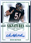 Dick Butkus 2017 National Treasures Signatures 5 Auto Chicago Bears #3 5 Signed