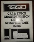 1990 Ford Car and Truck Engine and Emision Special Specifcations Service Manual