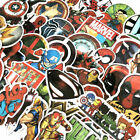 50 Pcs Lot Stickers MARVEL Avengers Super Hero DC For Car Laptop Skatboard Decal