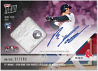 2018 TOPPS NOW AUTO RELIC ALCS CARD 25 RED SOX RAFAEL DEVERS #910A 3-RUN HR