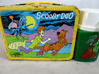 Vintage 1973 Hanna Barbera Scooby Doo metal lunch box  Thermos set