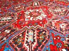 Superb C 1930 Serapi Heriz Antique Persian Exquisite Hand Made Rug 7x10