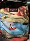Jansport x Disney High Stakes Forest Camp Backpack Mickey Mouse NWT New RARE