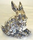 Sterling Silver Rabbit Sculpture