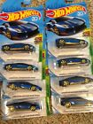 2018 Hot Wheels kmart exclusive blue Lamborghini aventador miura homage lot x 8