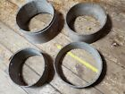 Lot Antique Round Bentwood Pantry Storage Box Centers