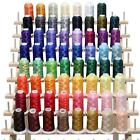 63 Brother Colors Embroidery Machine Thread Set 120D 2 40weight for Brother