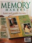 Memory Makers Home And Garden Layouts May June 2003 Scrapbook Ideas