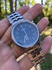 Rare Vintage Seiko 6139 7070 Chronograph day date Automatic Watch japan