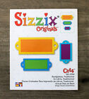 Sizzix Original Die Bookplates Traditional Brand New for Scrapbooking Cards