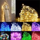 2030100500 LEDs Battery Plug in Fairy Lights Xmas Wedding Party String Decor