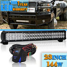 23inch LED Light Bar 144W COMBO DUAL Row FOR Ford F 150 F 250 F 350 F 450
