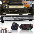 23 144W COMBO LED Light Bar Off road Driving Lamp FOR Chevrolet Silverado