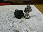 HARLEY DAVIDSON FRANKLIN MINT POCKET WATCH WITH LEATHER CASE and Night Stand
