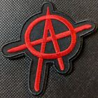 Anarchy Embroidered Biker Patch
