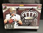 2014 Panini CROWN ROYALE Hobby Box Football