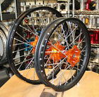 KTM WHEELS KTM300 EXC MXC 00-02 SET OEM RIMS FASTER USA HUBS NEW MADE IN USA