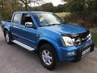 2006 ISUZU RODEO 30ltr DENVER MAX DOUBLE CAB 4x4 PICK UP GENUINE 1 OWNER