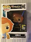 Funko Pop! Thundercats Flocked Lion-O #102 SDCC 2014 LE Exclusive + HARD STACK!