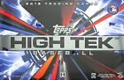 2015 Topps High Tek Baseball Sealed Hobby Box