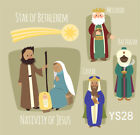 Nativity Of Jesus  The Magi Studio Backdrop Photography Props Photo Background
