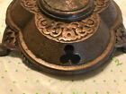 Clover Designed Cast Iron Art Deco Slavaged Floor Lamp Base Part