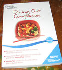 Weight Watchers Dining Out Companion Book Points Plus 2010