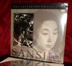 New Criterions SANSHO THE BAILIFF on Digital 12 Inch Laser Disc SEALED
