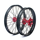 21'' 19'' F + R Wheels set for Honda CRF250X CRF450X 04-16 CRF 250 450 R CR125R
